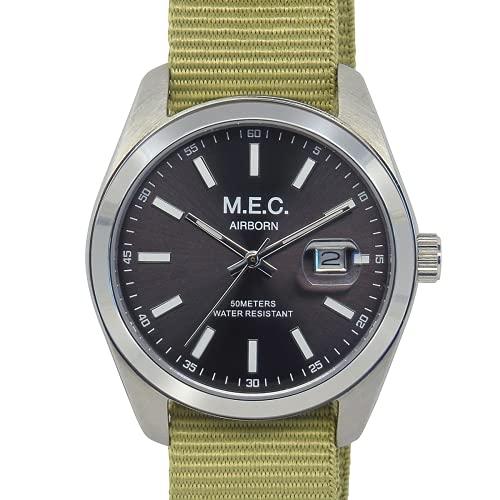 Reloj de hombre analógico de cuarzo con correa de la OTAN Militar