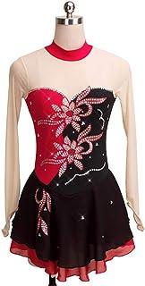 カスタマイズされた子供の大人のフィギュアスケートの服装の性能の衣服の競争の等級のスカート,15,AdultsSize:M