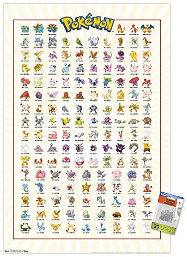 Póster Pokemon marca Trends International