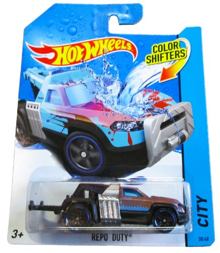 Hot Wheels Color Shifters - City 38/48 - Repo Duty by Mattel