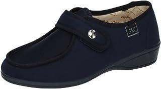 Zapatilla Velcro con Pala de Licra Muy comodas y Anchas Hechas EN ESPAÑA