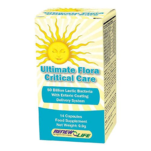 Renew Life Ultimate Flora Critical Care 14 Capsules