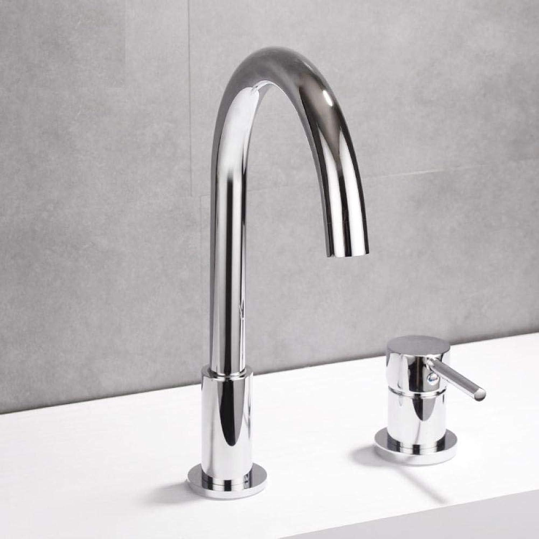 WJNSTNBL Modern Kaltes Heies Brause Waschtischa Küche schwenkbarer mit Hochdruck WasserhahnSplit Becken Wasserhahn