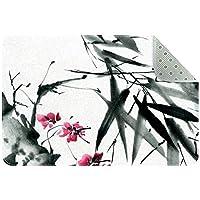 エリアラグ軽量 伝統的な花 フロアマットソフトカーペットチホームリビングダイニングルームベッドルーム