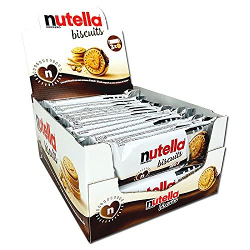 Ferrero Nutella Biscuits, 30 confezioni da 3 biscotti, 1,242kg