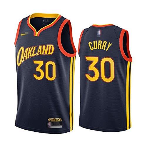 Camiseta de baloncesto sin mangas para hombre, camiseta de baloncesto Stephen Golden State NO.30 Warriors Curry Player Jersey de baloncesto uniforme de secado rápido transpirable sudadera