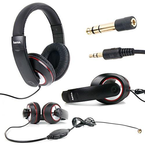 DURAGADGET Auriculares Estéreo para Lenovo LaVie Z HZ550 - Cable De 2 Metros -Disponibles En Color Negro