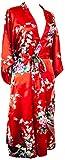 CCcollections Kimono Robe Longue 16 Couleurs Premium Paon Demoiselle d'Honneur...