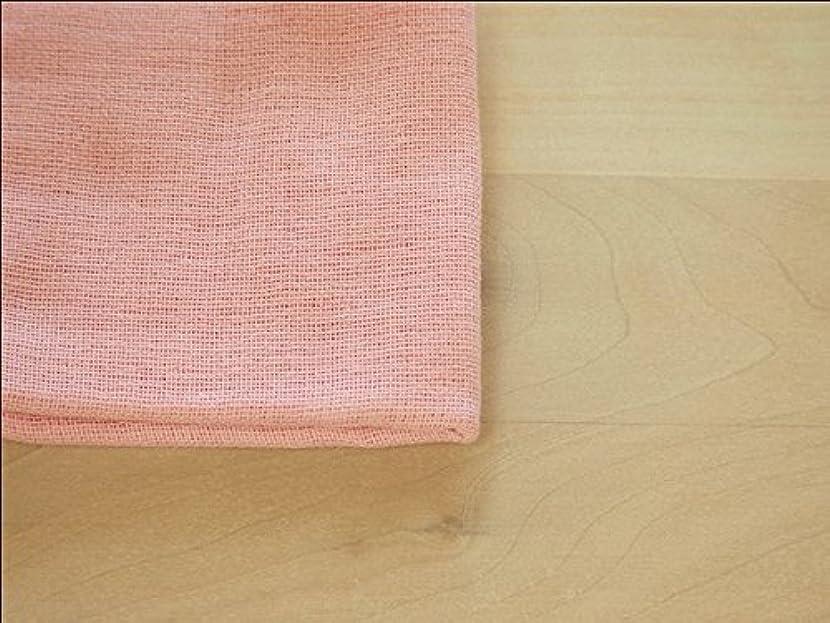 病者フェデレーション補正ガーゼケット CUMUCO 和晒 6重織りガーゼケット シングル 140×200cm 綿100% 日本製 (ピンク)