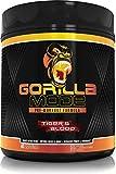 Gorilla Mode Pre Workout - Massive Pumps · Laser Focus · Energy · Power - L-Citrulline, Creatine, GlycerPump™, L-Tyrosine, Agmatine, Kanna, N-Phenethyl Dimethylamine Citrate - 617 Grams (Tigers Blood)