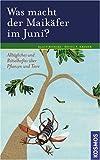 Bruno Kremer, Klaus Richarz: Was macht der Maikäfer im Juni? Alltagliches und Rätselhaftes über Pflanzen und Tiere
