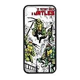 Fayruz- Personalized Protective Hard Black Rubber Phone Case for iPhone 7 - TMNT Teenage Mutant Ninja Turtles -i7A903