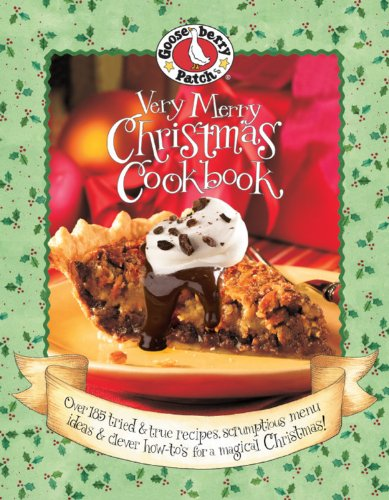 Very Merry Christmas Cookbook (Gooseberry Patch)