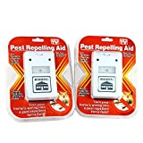 2 Plugs Pest Repellent for Rodents Roaches Ants Spiders