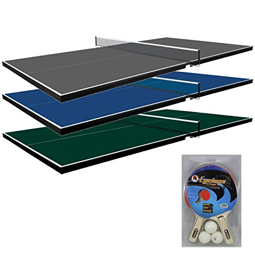 Find Bargain Martin Kilpatrick 3/4-Inch Pool Table Conversion Top with 2-Player Set
