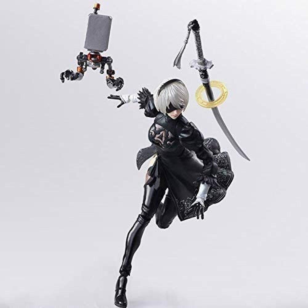 YYZZ Figura Modelo Juguetes -Nie: Automata Automatic Humanoid 2B Miss Sister Mechanical Life Body Toy Model - Colección de Regalos de cumpleaños Marvel para niños- Decoración del hogar: Amazon.es: Hogar
