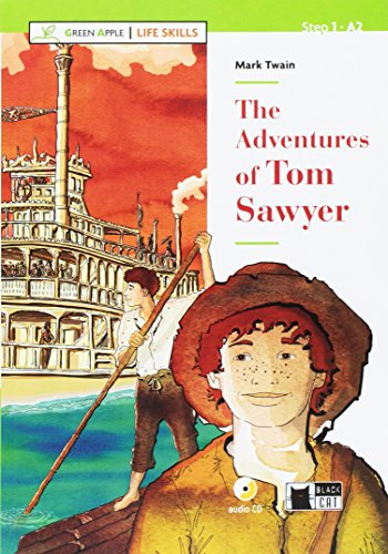 The adventures of Tom Sawyer. Con App. Con CD-Audio [Lingua inglese]