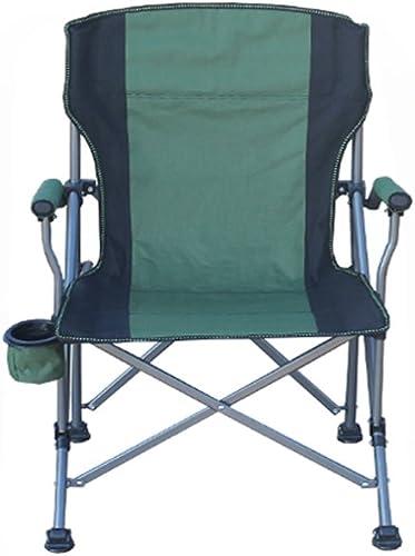 Chaise Pliante Portable Pour Hommes Et Femmes Camping Pique-nique Barbecue Pêche Croquis Fête Partie Plage Bleu Vert Aluminium Alliage Oxford Tissu Chaise