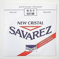 SAVAREZ 572NR NEW CRISTAL Normal tension クラシックギター弦 2弦 バラ弦×5本