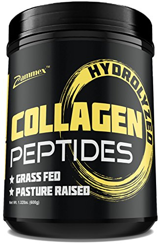 Premium Hydrolyzed Collagen Peptides (21oz) - Non-GMO, Grass-Fed, Gluten-Free, Pasture Raised Cattle - Unflavored and Easy to Mix - 100% Pure Ultimate Collagen Powder Type 1&3