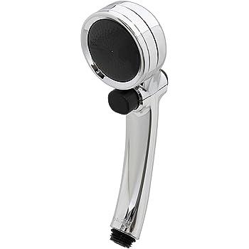 タカギ(takagi) シャワーヘッド シャワー キモチイイシャワピタメッキ 節水 低水圧 工具不要 JSB100AZ 【安心の2年間保証】
