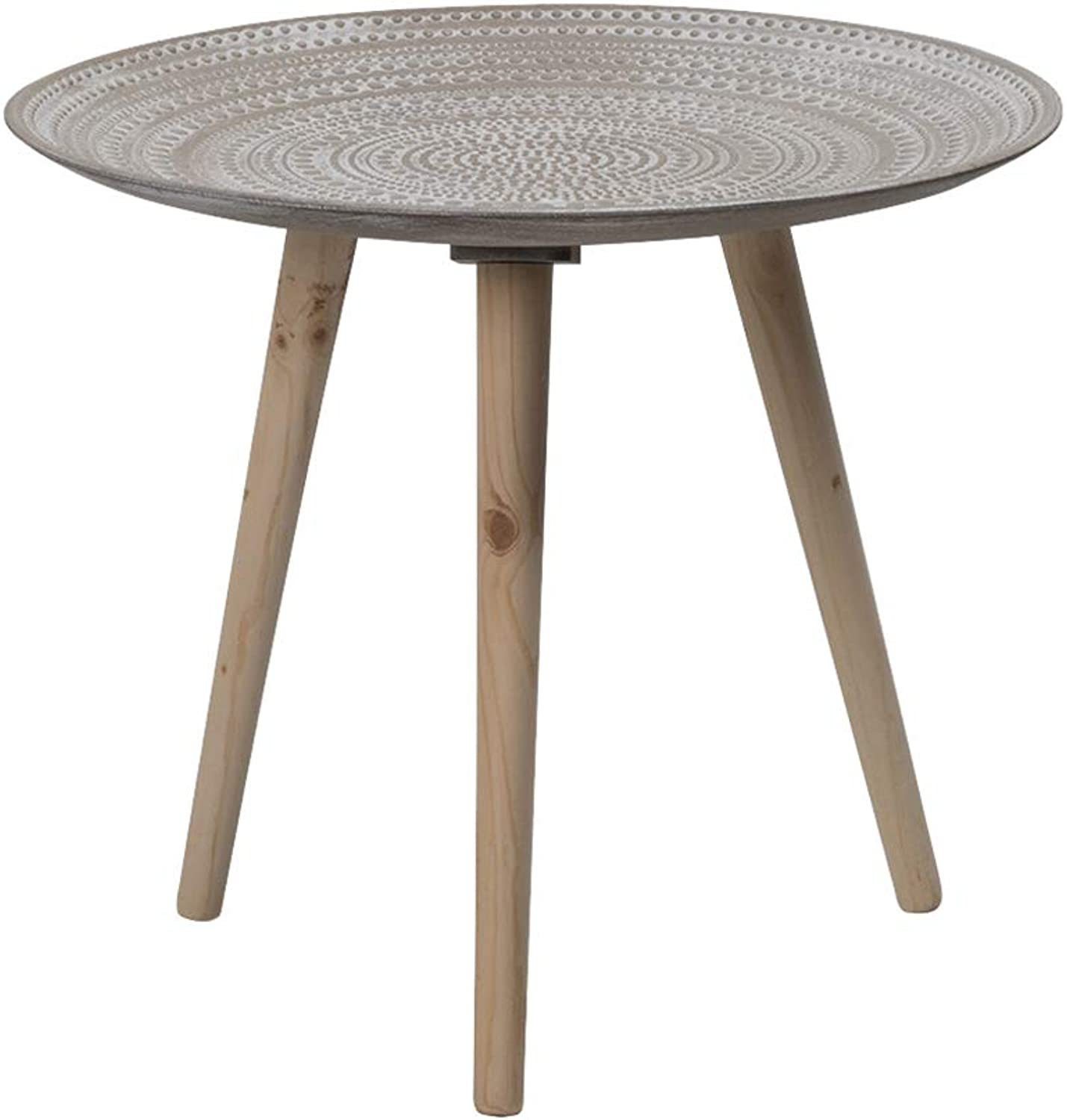 Nordic Fashion Small Coffee Table, Home Living Room Bedroom Balcony Leisure Table - Creative Simple Small Round Table - Home Decoration Storage Stand