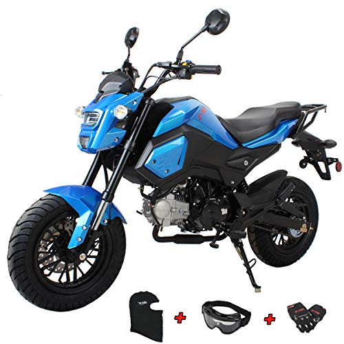 X-PRO 125cc Vader Adult Motorcycle Gas Motorcycle Dirt Motorcycle Street Bike,Big 12