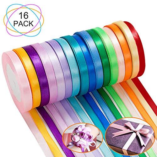 Satinband 3 mm x 50 m fuchsia Geschenkbänder Schleifenband Hochzeit Band