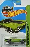 Hot Wheels 2014 Muscle Mania Hw Workshop Green '70 Camaro 231/250