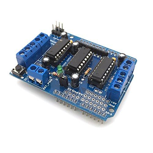 AptoFun L293D Motor Drive Shield Stepper Für Arduino UNO Duemilanove Mega R3 AVR ATMEL