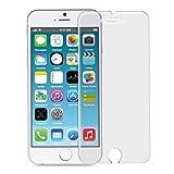 kwmobile Protector de Pantalla Mate y ANTIREFLECTANTE Compatible con Apple iPhone 6 / 6S / 7 (más pequeña Que la Pantalla)