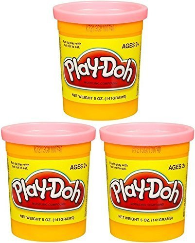 (3 Pack) PEACH (23861) Hasbro Play-Doh 5 oz. (15 oz. total) by Play-Doh