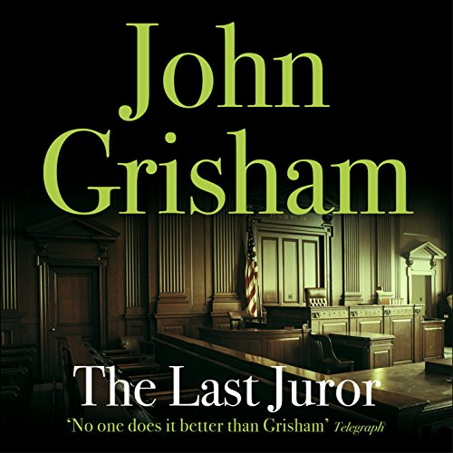 The Last Juror audiobook cover art
