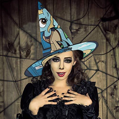 NUJIFGYTCRD - Gorro de Bruja Unisex con diseño de My Little Pony...