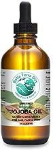 SALE! Jojoba Oil 4 oz 100% Pure Cold-pressed Unrefined Organic Premium Quality - Bella Terra Oils