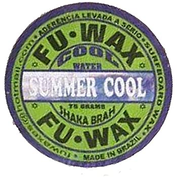 FU WAX(フーワックスフワックス) SURF WAX(サーフワックス) (サマークール(水温17℃~21℃))