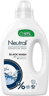 Neutral Wasmiddel Vloeibaar Zwart, 1000 ml