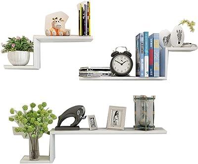 Amazon.com: Sevenpring - Estantería de pared con estantería ...