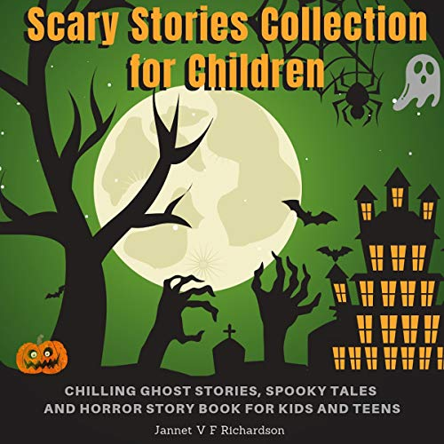 Scary Stories Collection for Children audiobook cover art