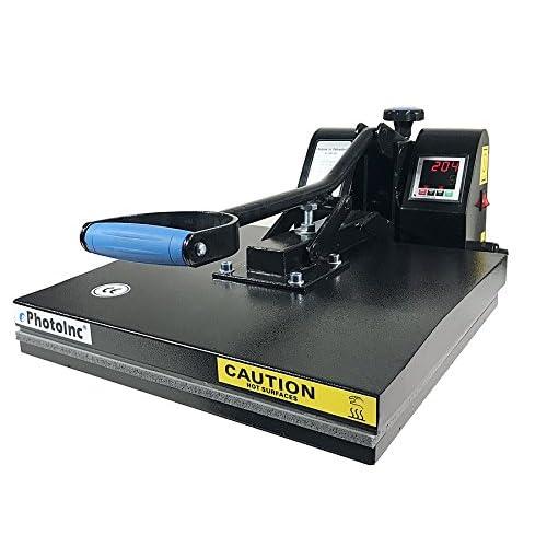 Amazon com: ePhotoInc Digital T Shirt Heat Press Machine