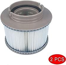 Tulas Pool Filter Cartridges MSPA Filter Cartridges Strainer for All Models Hot Tub Spas Swimming Pool (2 PCS)