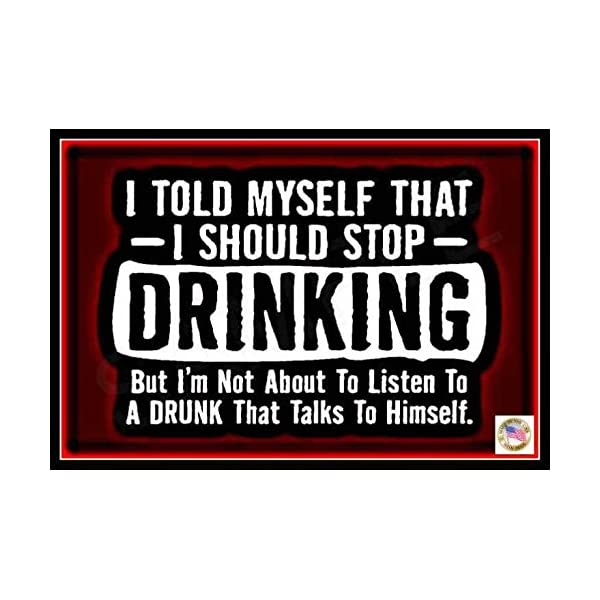 Stop Drinking Sign