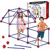 OleFun Fort Building Kit for Kids Age 4,5,6,7,8+Year old Boys & Girls, 120 pcs Forts Builder...