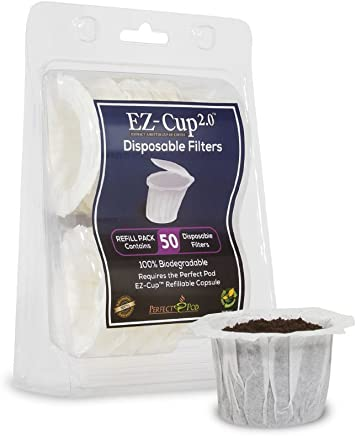 featured product EZ-Cup Filters by Perfect Pod - 10 Pack (500 Filters) Paper K-Cup Filters