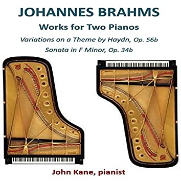 Johannes Brahms Works for Two Pianos
