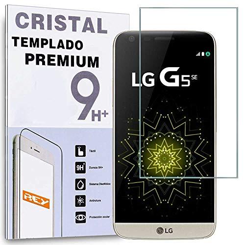 REY Protector de Pantalla para LG G5, Cristal Vidrio Templado Premium