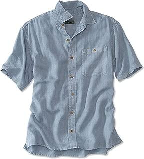 Orvis Men's Hemp/Tencel Short-Sleeved Shirt/Hemp and Tencel Short-Sleeved Shirt