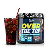 Rocka Nutrition OVER THE TOP Pre Workout Booster Fitness | 2in1 Pump Booster + Fokus Booster – 240 g (Cherry Cola)