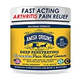 Arthritis Pain Relief Cream 7oz,(Greaseless) Instant Relief, Maximum Strength, Deep Penetrating for Neuropathy, Colds, Sore throats, Hand & Knee and Elbow Pain, Aching Joint, Restless Legs.