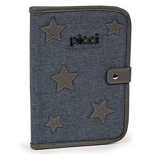 Piques porte-documents gris Star - 600 g